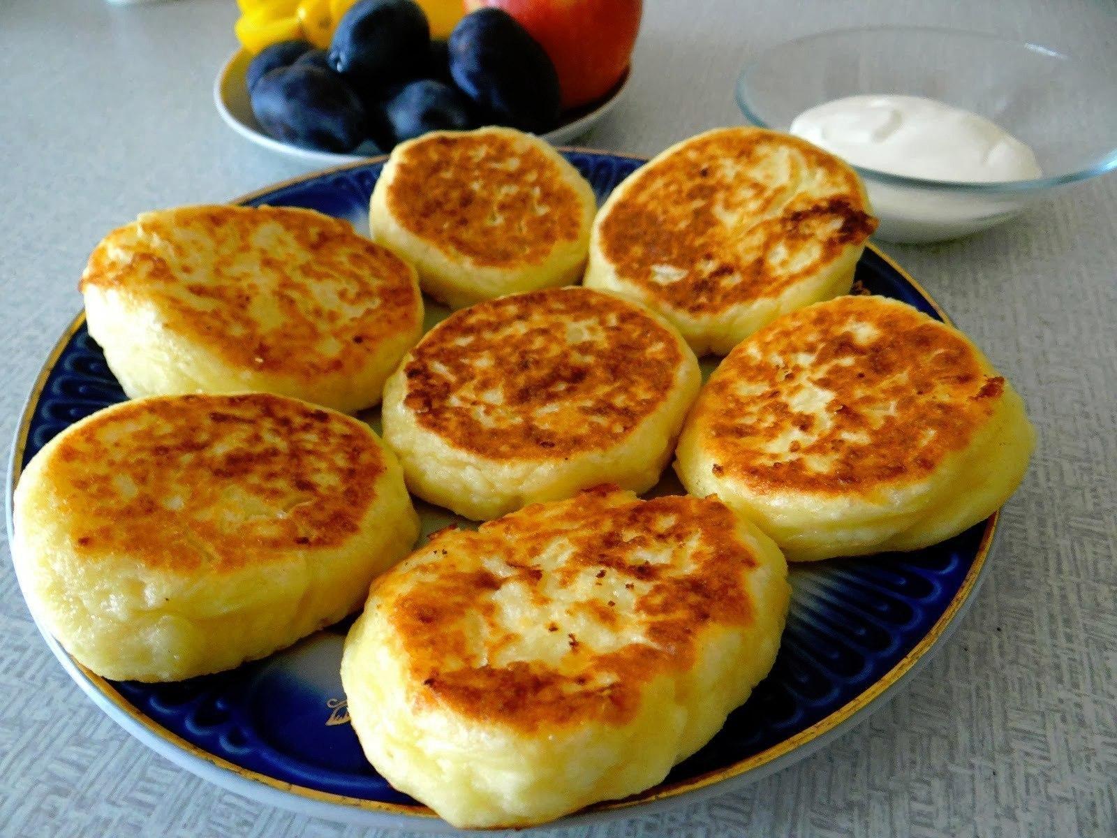 Вкусные и простые сырники рецепт пошагово