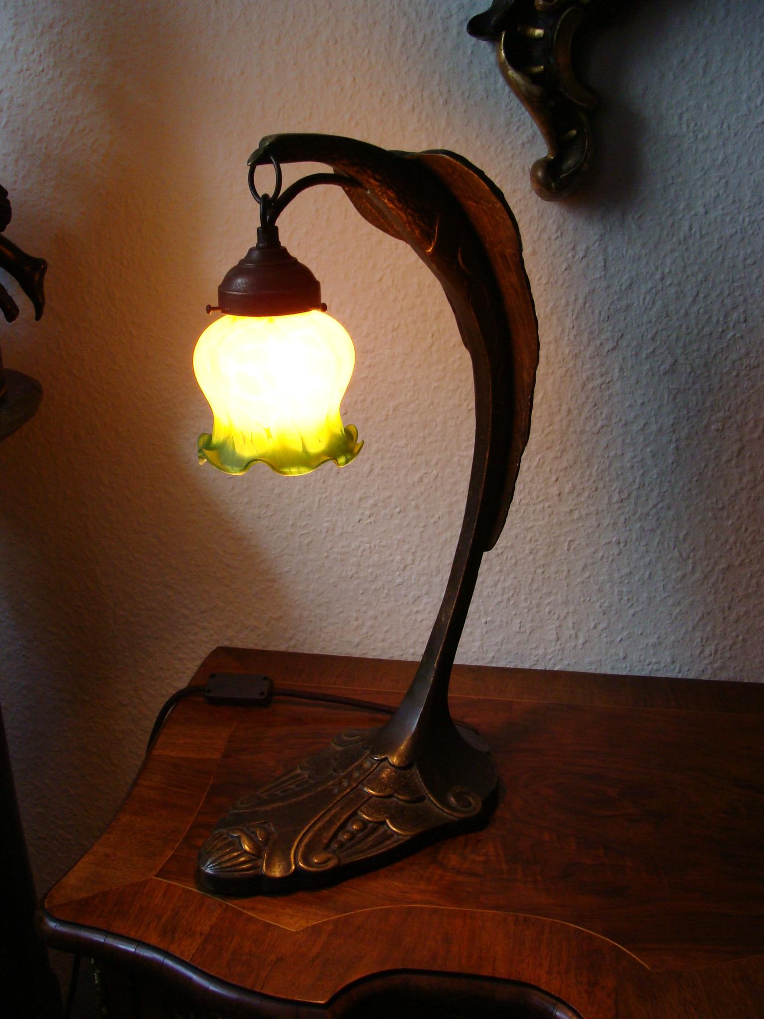 lampe art deco schreibtischlampe bronze massiv adler nach c ranc 50cm jugendstil univers du. Black Bedroom Furniture Sets. Home Design Ideas