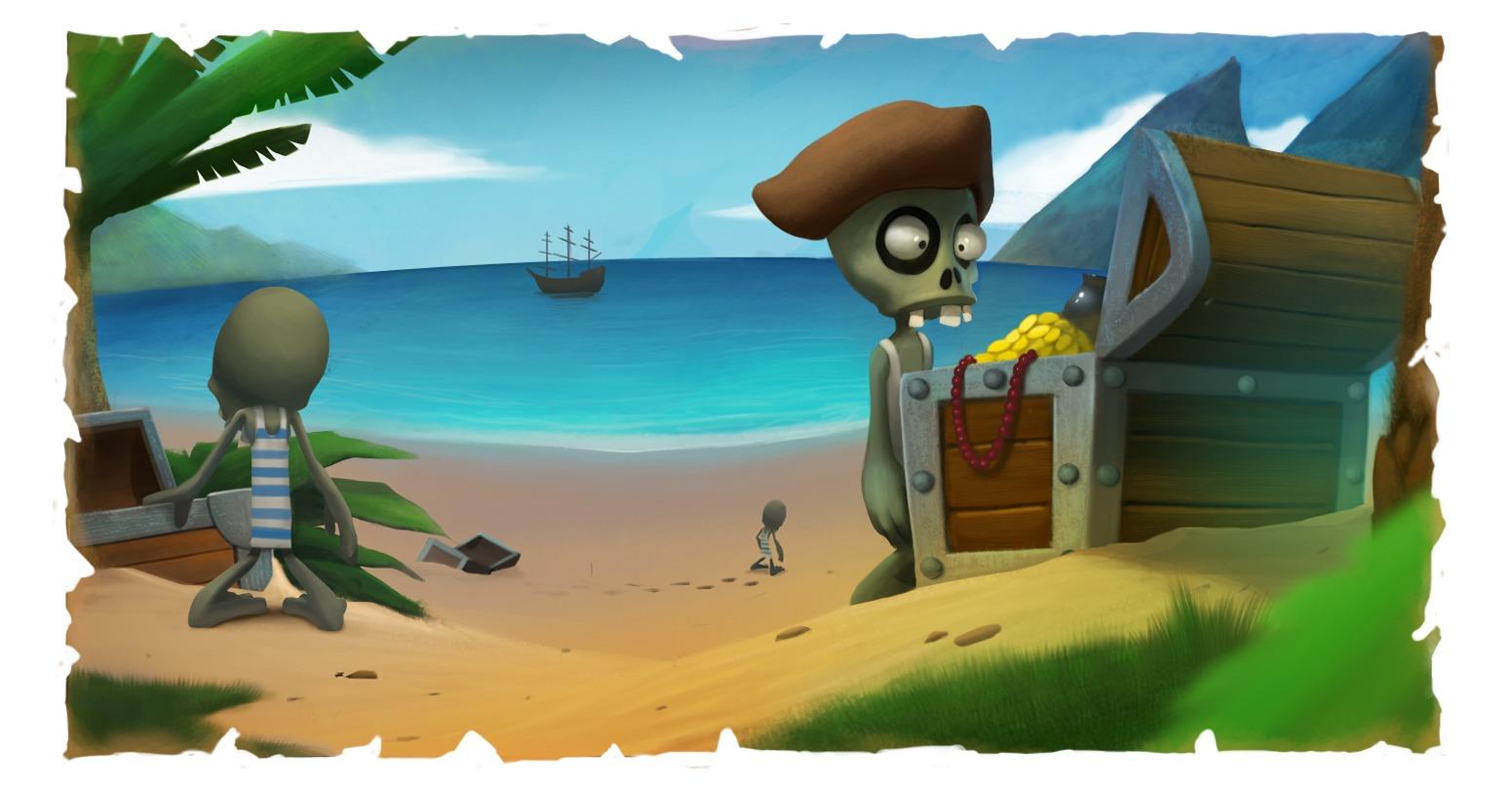 Секретный остров в зомби ферме, чаво: Троянский и Лилипутский острова в мобильной ЗФ 11 фотография