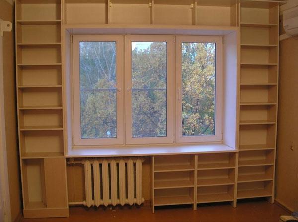 Книжный шкафище, полки или что? - дизайн помещений и интерье.