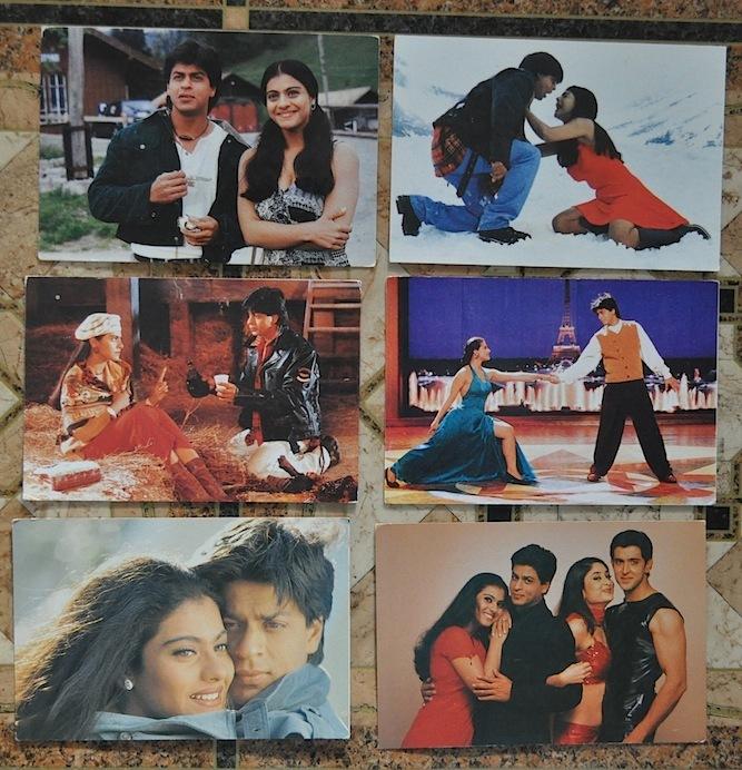 Как делают цифровые открытки с индийскими актерами